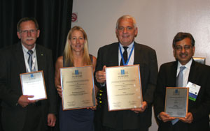 Picture of 2010 Go Beyond Award winners