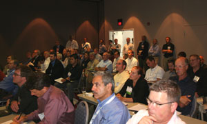 Picture of attendees during a session