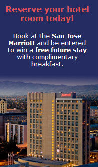 Book your room at the San Jose Marriott
