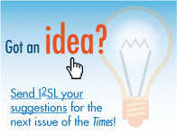 Send newsletter suggestions to labs21@i2sl.org