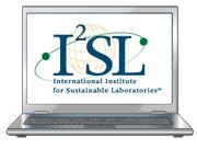 I2SL logo in a computer monitor