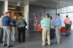 Photo of I2SL's Colorado Chapter at a reception