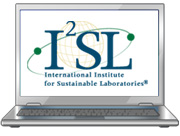 I2SL logo on computer